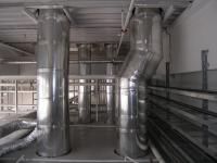 Puits de lumière Lightway - Tube réfléchissant la lumière naturelle dans le plénum d'un bâtiment